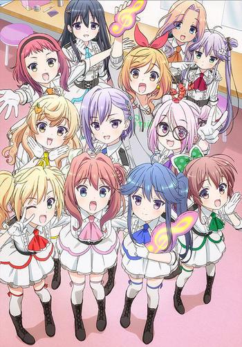 TVアニメ「音楽少女」オープニングテーマ「永遠少年」歌:小倉唯エンディングテーマ「シャイニング・ピース」 歌:音楽少女