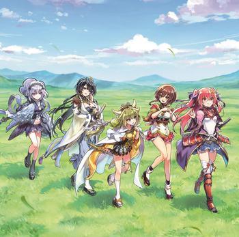 美少女剣撃アクションRPG「天華百剣 -斬-」キャラクターソングアルバム「百華繚乱」