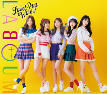 LABOUM(ラブーム)JAPAN 1st Album『Love Pop Wow!!』