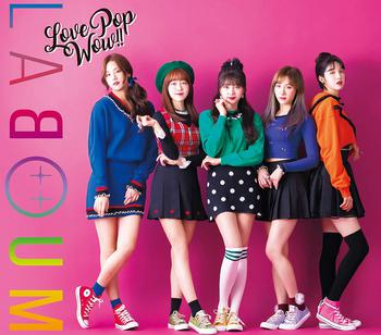 LABOUM(ラブーム)JAPAN 1st AlbumLove Pop Wow!!【初回限定盤B】