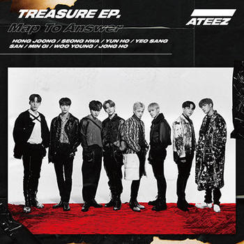 ATEEZ TREASURE EP.Map To Answer