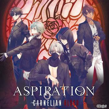 『CARNELIAN BLOOD(カーネリアンブラッド)』EROSION 2nd Single「Aspiration」